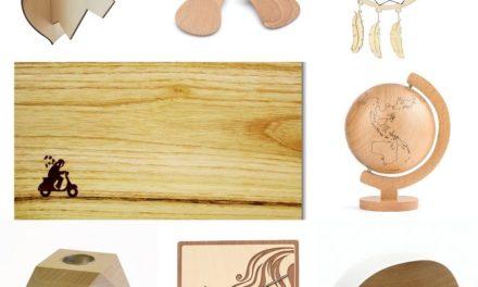 Originele woonaccessoires van hout