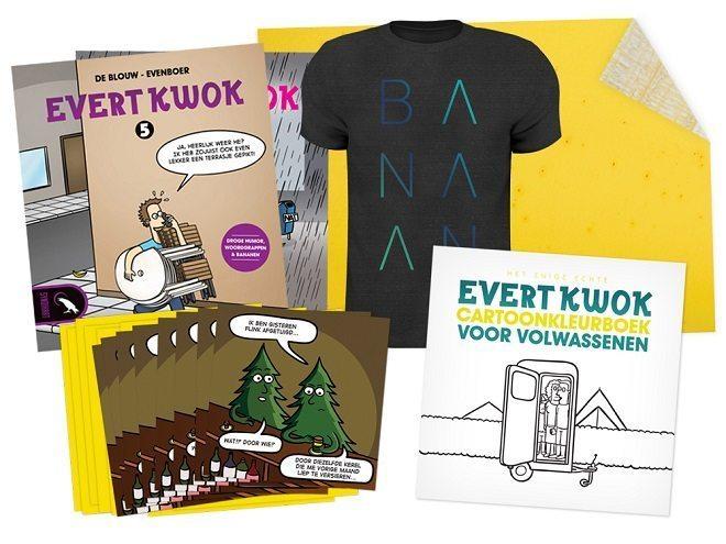 Gesigneerde Evert Kwok boekjes, direct van de auteur
