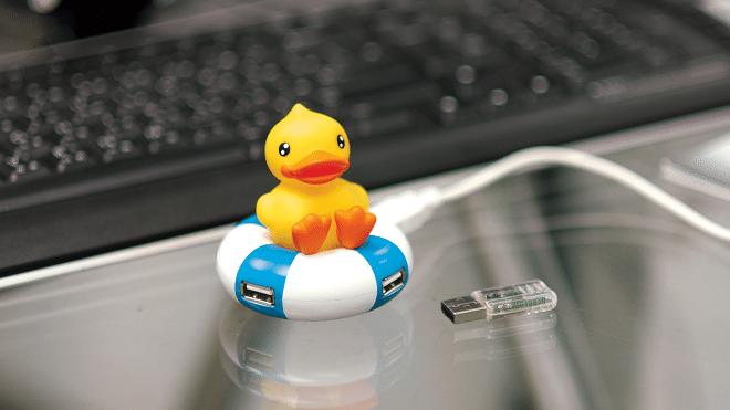 USB hub eendje Kadogalerie