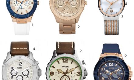 Hippe horloges waarmee je nooit meer te laat komt