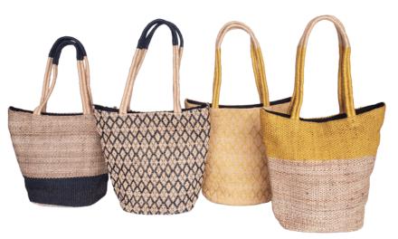 Nieuwe collectie stijlvolle handgeweven tassen van Tulsi Crafts