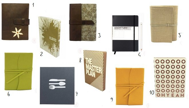 De mooiste notitieboeken