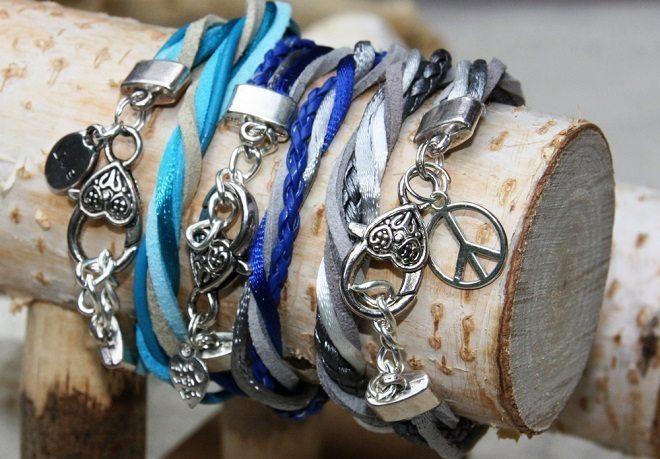 Zin in de zomer met deze kleurrijke wrap armbandjes