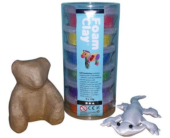 Winnen: Knutselpakket Foam Clay
