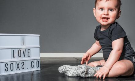 SOXS introduceert gepersonaliseerde kindersokken