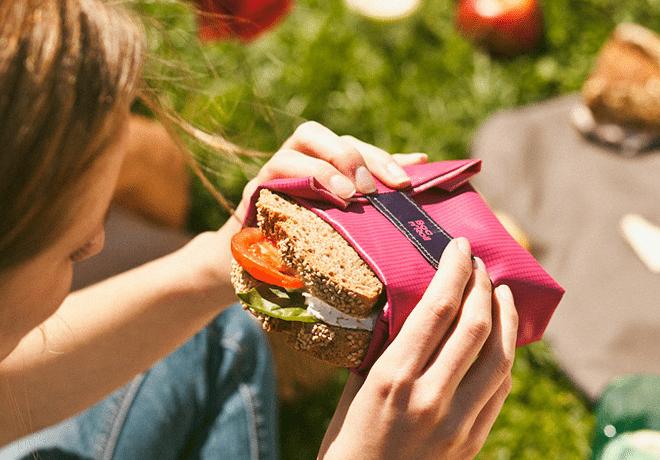 Wrap je lunch duurzaam in met Roll'eat