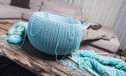 Nieuwe trend: gebreide meubelen