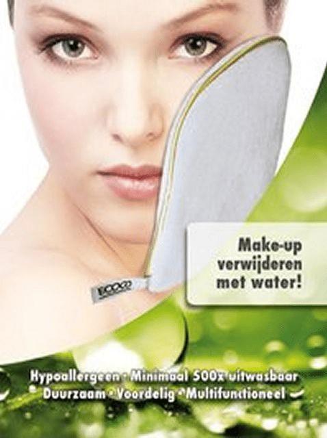 Altijd een schone en verzorgde huid dankzij Ecoco Cosmetic Glove