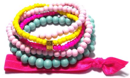 Kleurrijke Lovely for You dames armbandjes