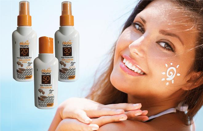 Zonnebrandcrème met arganolie voor verzorging en bescherming