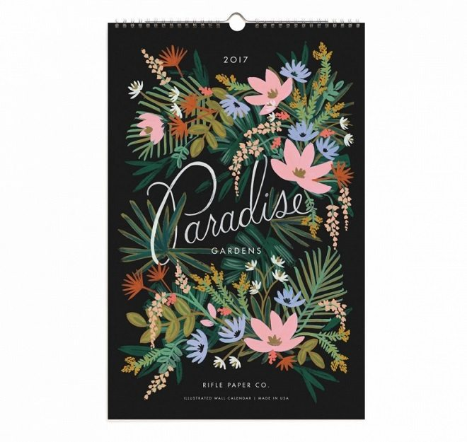 Dreamkey Design - Paradise Gardens 2017 kalender