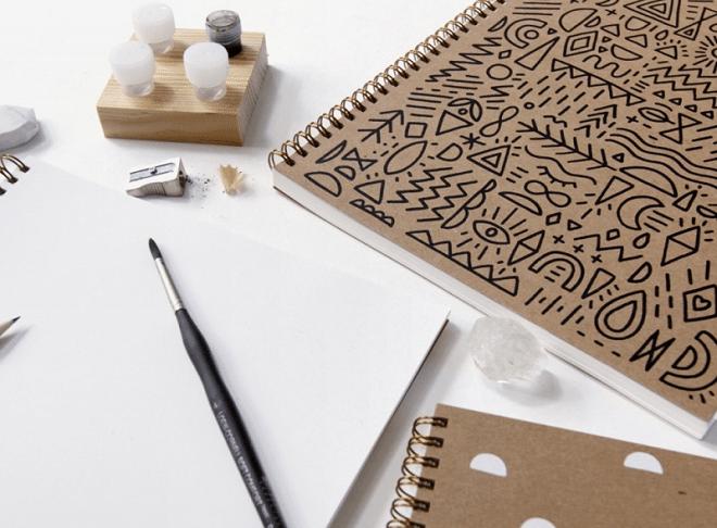 Dankzij de notitieboekjes van Dreamkey Design vergeet je nooit meer iets