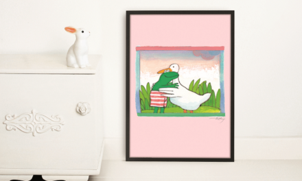KEK Amsterdam presenteert behang en posters met illustraties van Kikker