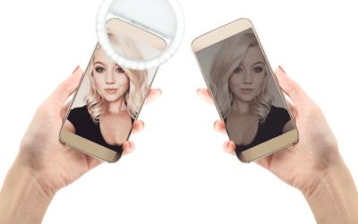 Halo Selfie Light garandeert altijd en overal stralende foto's