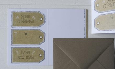 Stuur een creatieve kerst- of nieuwjaarskaart van Blitz Ontwerpt