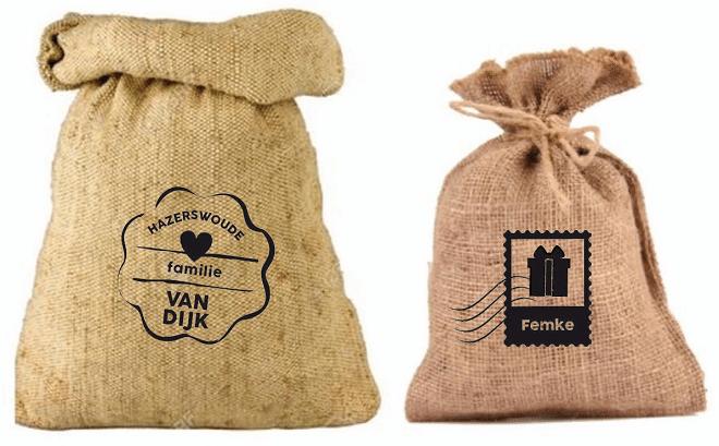 Winnen: Zak van Sinterklaas, mét je naam erop