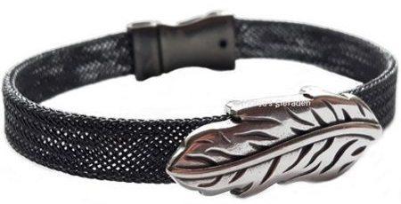 armband-metalen-veer