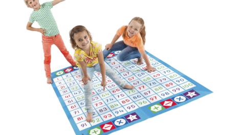 Spelenderwijs leren rekenen met de nieuwe Cijferspelmat