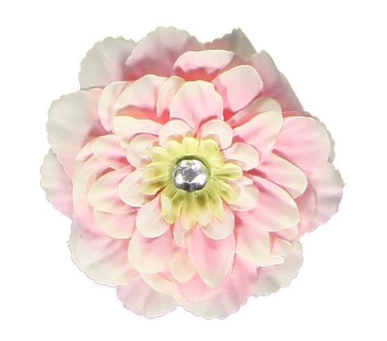 Haarknip met roos