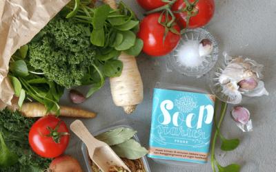 Nieuw: SoepStarter – maak snelle soep van weggooigroenten
