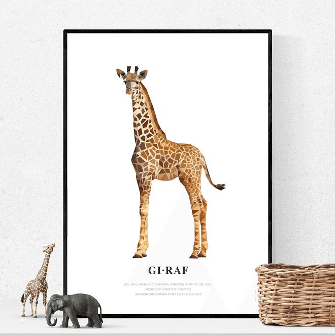 Geometric Wildlife postercollectie