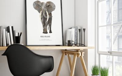 Geometric Wildlife postercollectie: haal je lievelingsdier in huis