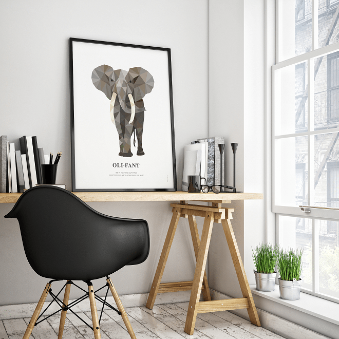 Geometric Wildlife postercollectie