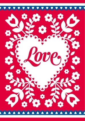 Love kaart
