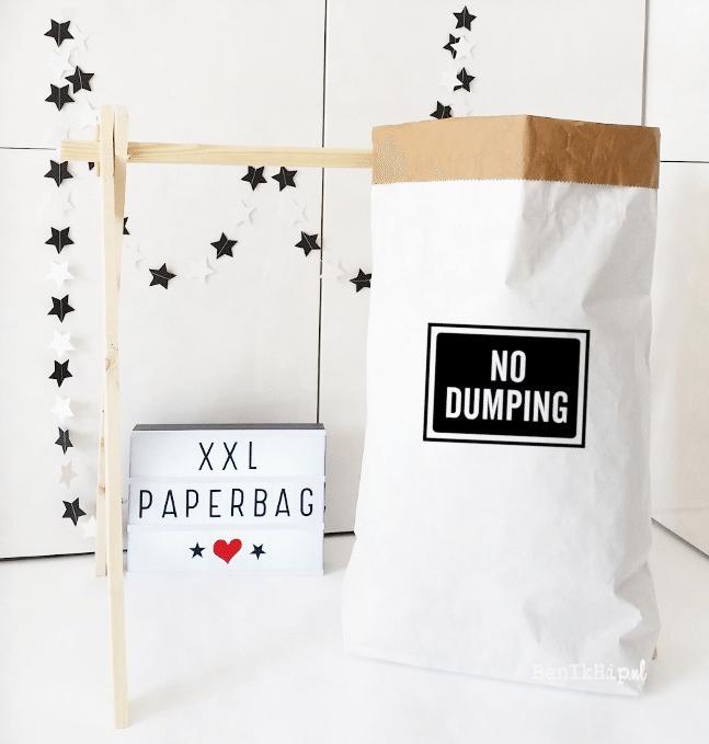 Paperbag XXL No Dumping