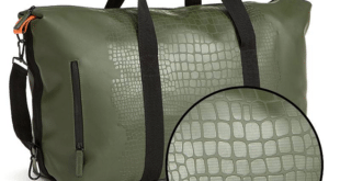 Travelbag Happy Alligator, Dark Olive Green