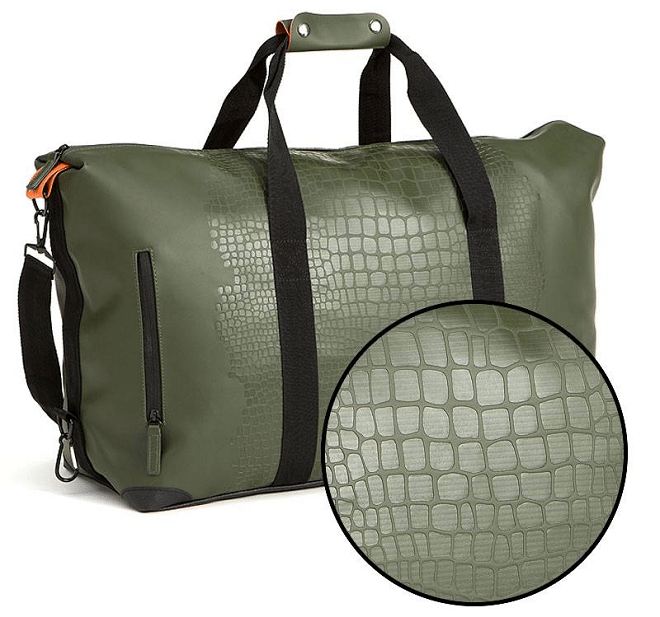 Travelbag Happy Alligator, Dark Olive Green