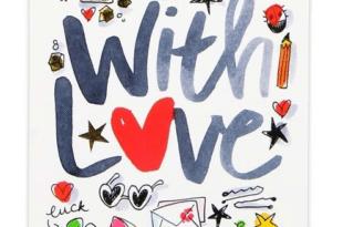 Valentijnsdag Kaart Blond