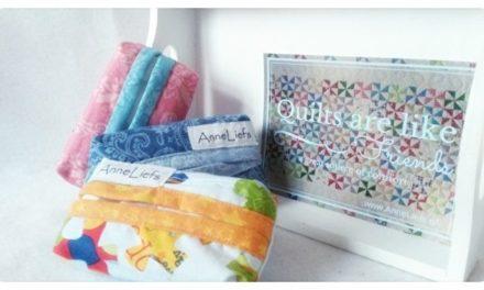 Creatief aan de slag met de zakdoekhoesjes van AnneLiefs