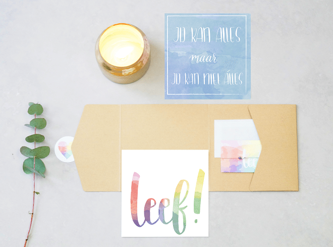 Leef! Kleurvolle Happiness kits brengen balans, kracht, rust, vertrouwen en liefde