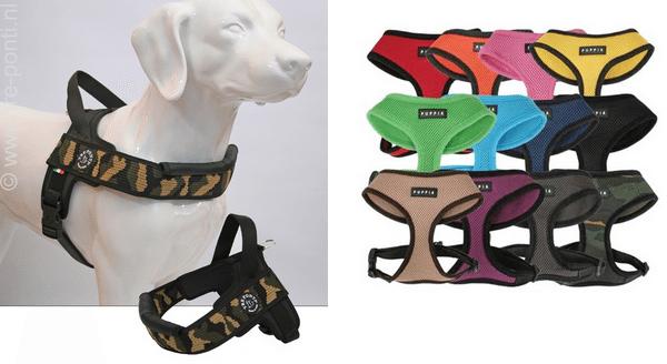 De hond uitlaten is een feest met de hondentuigjes van PeJe Diertotaal