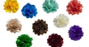 Haarbloemen staartjes en strikjes