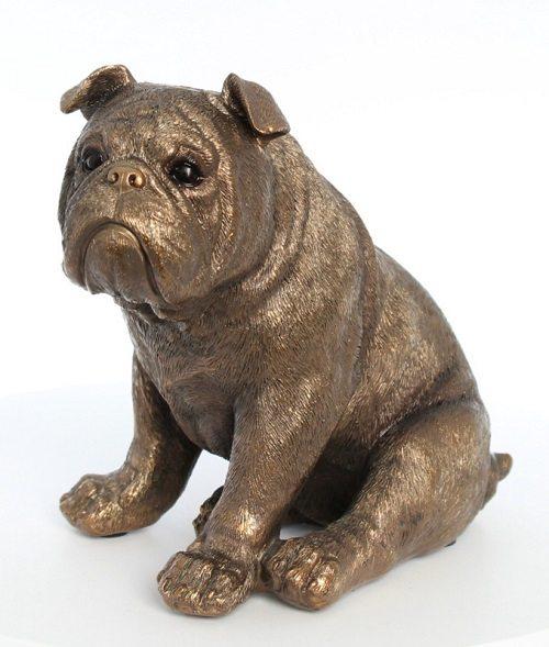 Hondenbeeldjes in bronskleur zijn een echte aanwinst voor je interieur