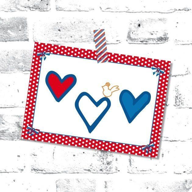 Studio Holland kaart harten