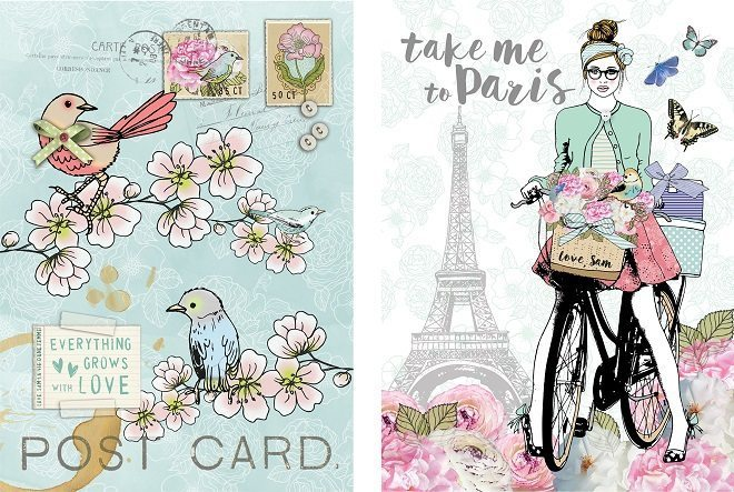 Love, Sam komt met trendy stationery collecties in vintage en bohemian stijl