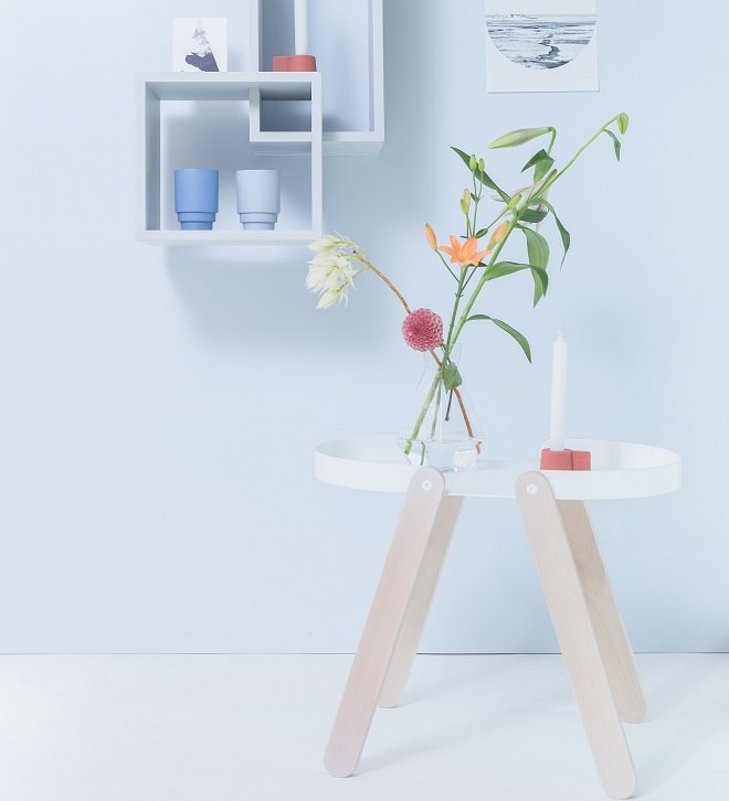 PUIK Art presenteert unieke bijzettafels en kruk met gewaagde combinatie van materialen