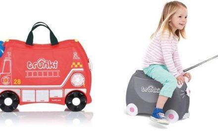 Laat je kind zijn eigen bagage meenemen met de Trunki kinderkoffers