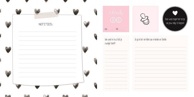 Zwangerschapsdagboek, een geweldig aandenken voor later
