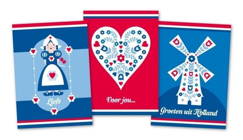Maak iemand blij met een mooie ansichtkaart op Wereld Postdag