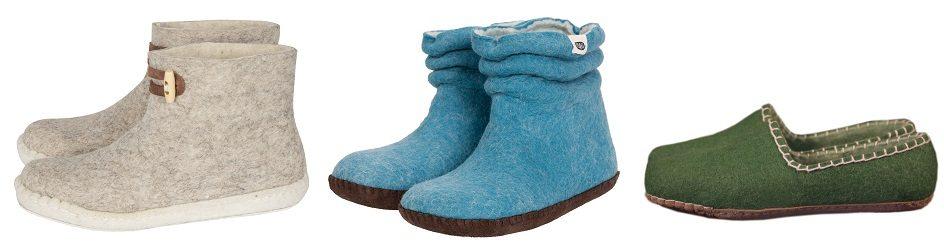 Duurzame en modieuze Cool Wool sloffen
