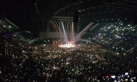 Een top concert van Waylon