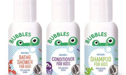 BUBBLES Natural Bodycare: goed voor kinderen én de planeet