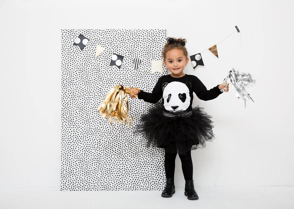 Small Rebel - Panda Tutu dress