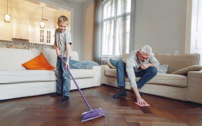 3 tips voor een schone vloer thuis